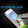 newest ultra smooth ultra thin big curve edge tempered glass cell phone screen protector for Samsung S4 mini