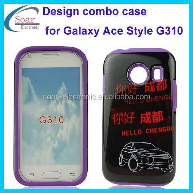 fresh fashion printing design case for samsung galaxy ace style g310 back cover combo case for. Black Bedroom Furniture Sets. Home Design Ideas