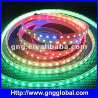 60LED 60 pixel ws2812B color change led strip with IC
