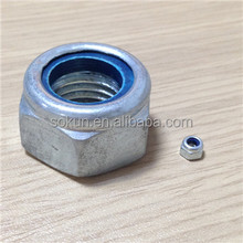 DIN985 hex nut and screw galvanized