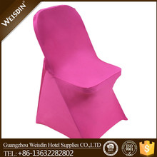 banquet hot sale spandex/polyester spandex folding cheap chair cover