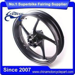 FTWTR003 Motorcycle Alloy Wheel Rim For Triumph Daytona 675 2013 2014 Black