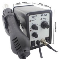 Wholesale 700W Helical Wind Adjustable Temperature Unleaded Hot Air Gun + Solder Station & Soldering Iron