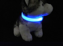 LED Pet Cat Dog LED Collar leather dog collar