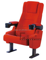 Luxury Cinema Seating, Theater Seating with Cup Holder, Cinema Chair with Cup Holder Manufacturer