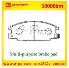 Hot brake pads fit for Ford or Isuzu or Opel o-pure semi-metal brake pad 1605 825 none asbestos high quality
