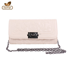 New Lady bags fashion 2015 Classic clutches shoulder bags with floral quilted effect shipping bags