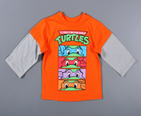 2015 new fashion kids clothing 100%cotton blouse childrens clothes baby boy's long sleeve t shirts Cartoon Printing Top