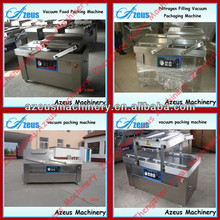 Double chamber vacuum package machine DZ5002S for tofu,beef,pork,chicken,becon,sea food 0086-150 9343 2115