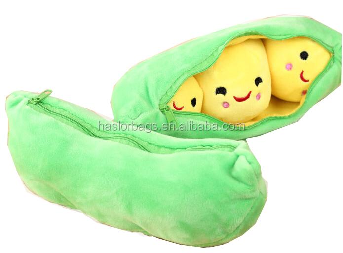 Cute Plush Pencil Bag /Animal Shape Plush Pencil Case