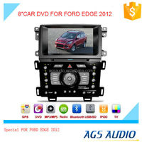 touch screen car dvd player for FORD for EDGE 2012 with gps navigation/vcd cd mp3 mp4 player