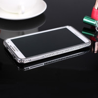 Wholesale Custom Luxury Fashion Rhinestone 3D Cell Phone Case For Samsung Note 3