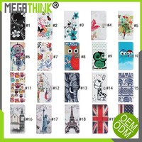 Fashion Pattern custom print Flip Case For lumia 540 640 435 430 Stand leather wallet protective cover