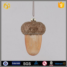Best sale christmas glass half golf ball to hang christmas tree decoration