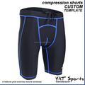 Spandex/supplex mulheres personalizado compressão ginásio shorts