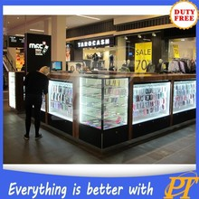Shopping mall phone accessories booth, mobile accessories kiosk