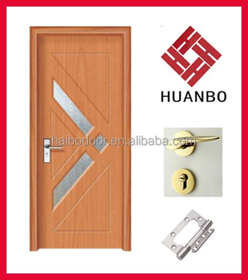 Nuevo dise o de interiores de pvc mdf puerta de madera for Diseno puertas de madera interiores