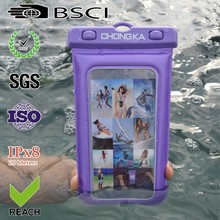 2015 hot sale sealed waterproof bag for phone/waterproof cell phone bag