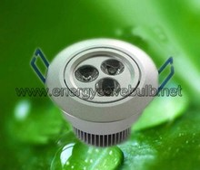 Best Price Aluminium 80mm cutout LED Downlight 3W For Sale