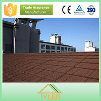 High quality economy colorful stone-coated metal roof