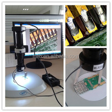 MZDH0850 high-resolution biological monocular microscope with light for inspect electic equipments,semi-conductor,lcd,LED