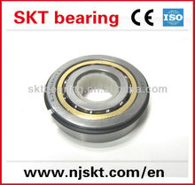 QJ series four-point contact ball bearing QJ212NRM with snap ring
