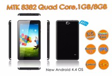 3G phone call function with android tablet, 7 inch Quad core tablet pc