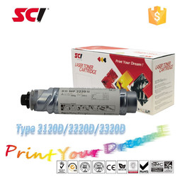 compatible toner cartridge for Type 2120D 2220D 2320D for the printer Aficio 1022/1027/1032/2022/2027/2032/3025/3030 MP 2352