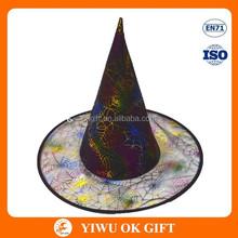 Multicoloured festival hat, hat decoration ideas for halloween event