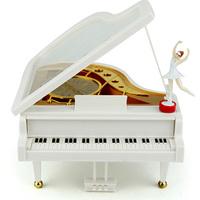 Hot Sale Cute Piano Shape Music Box