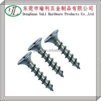 china supplier aluminum wood screw for furniture