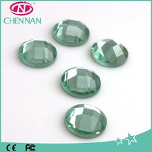 Shoes accessories garment accessories flat back mirror rhinestones accessories for garment