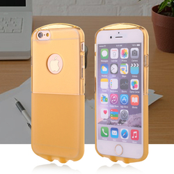 High protective phone case ultra thin soft clear tpu case for iphone 6 case