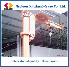 High Quality 1t 2 t 3 t jib cranes and ratate angle degree