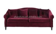 Pfs31388 borgonha make sofá armação