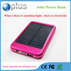 2015 Outdoor Aerometal Power Bank, Portable Power Bank, Solar Power Bank 8000mah