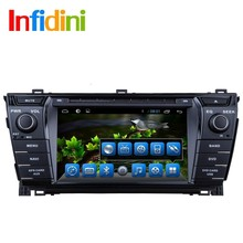 pure Android 4.2 Car dvd player for toyota corolla 2014 2015 dvd gps car pc 2 din in dash car radio video player navigation