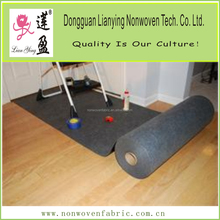 Polyester paint mat for floor protection