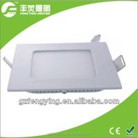 high brightness 18W led square panel light, flat led panel light, led ceiling light