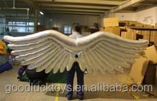 Inflable angel alas disfraz para actuación y desfile