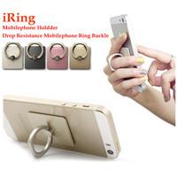 Reusable Gule Metal Ring Phone Holder rotating finger ring grip for smartphones