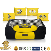 Cheap Plush Dog Bed Luxury Design With Bone Toys Pet Beds & Accessories