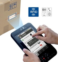 7 inch indstrial RFID tablet PC with blue tooth portable android scanner mobile