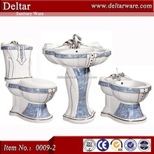 sanitary ware coloured toilet bowl,china dark blue colored toilet