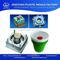 Direct Factory Price hot-sale paint bucket with lid mould