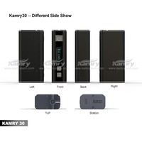 Hot new high end kamry 30 box mod 30w high watt box mod built-in 18650 battery vapor pen x7