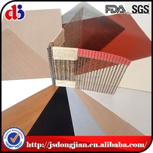 New Design PTFE Oven Basket Mesh Tray with fabric protective edges for crisping chip cooking