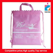 Non Woven Pink Ballet Dance Bag