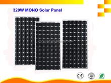 320W Grade-A high efficiency monocrystalline solar panel