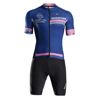 Monton Custom Cycling Jersey and Bike Shorts for Bike Racing
